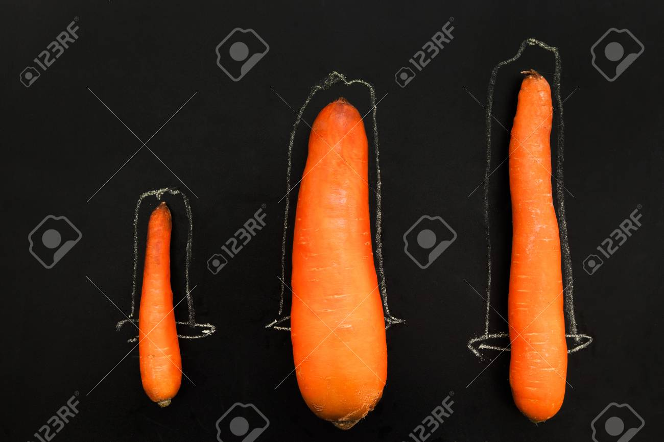See different size penis photos