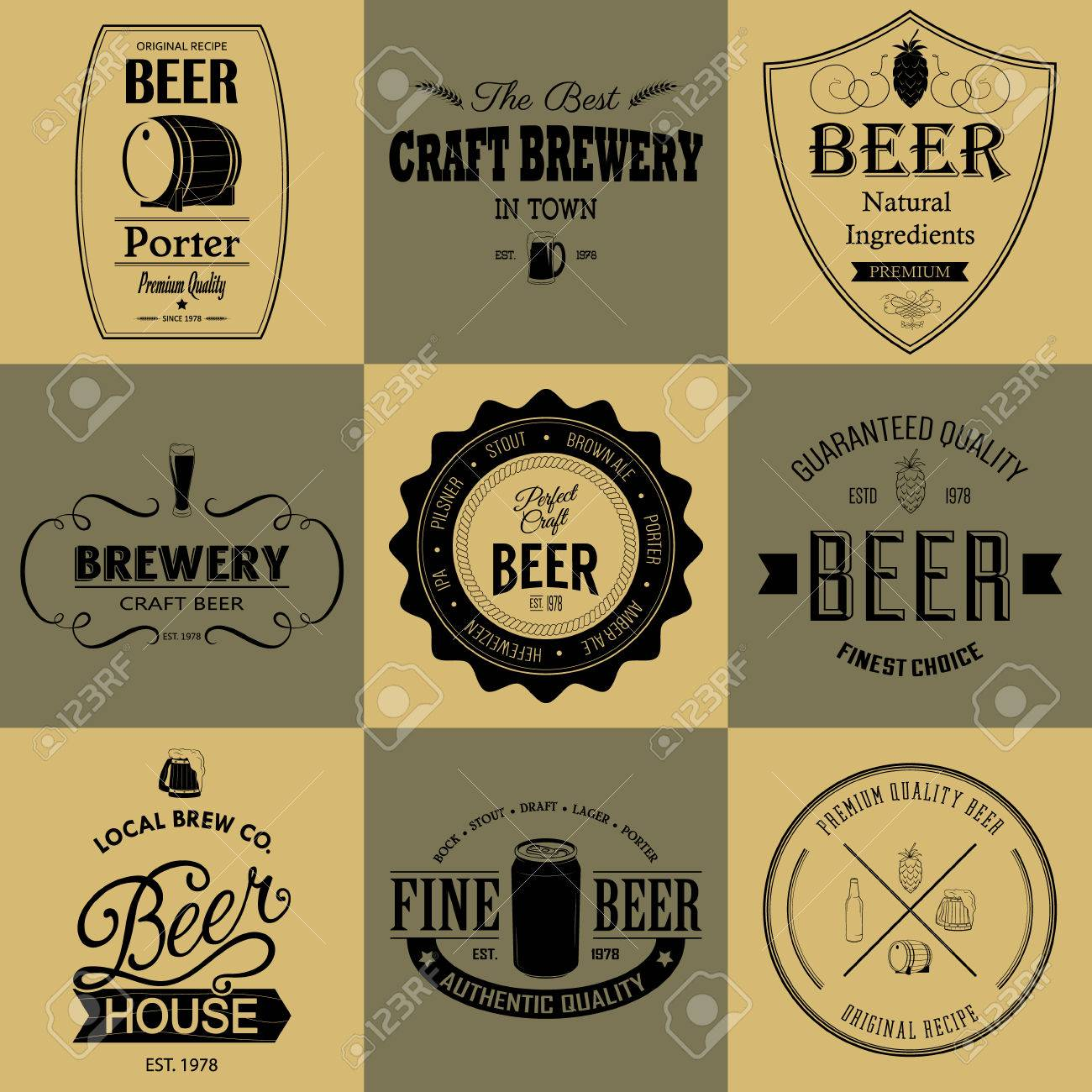 beer can label template 9586 loadtve