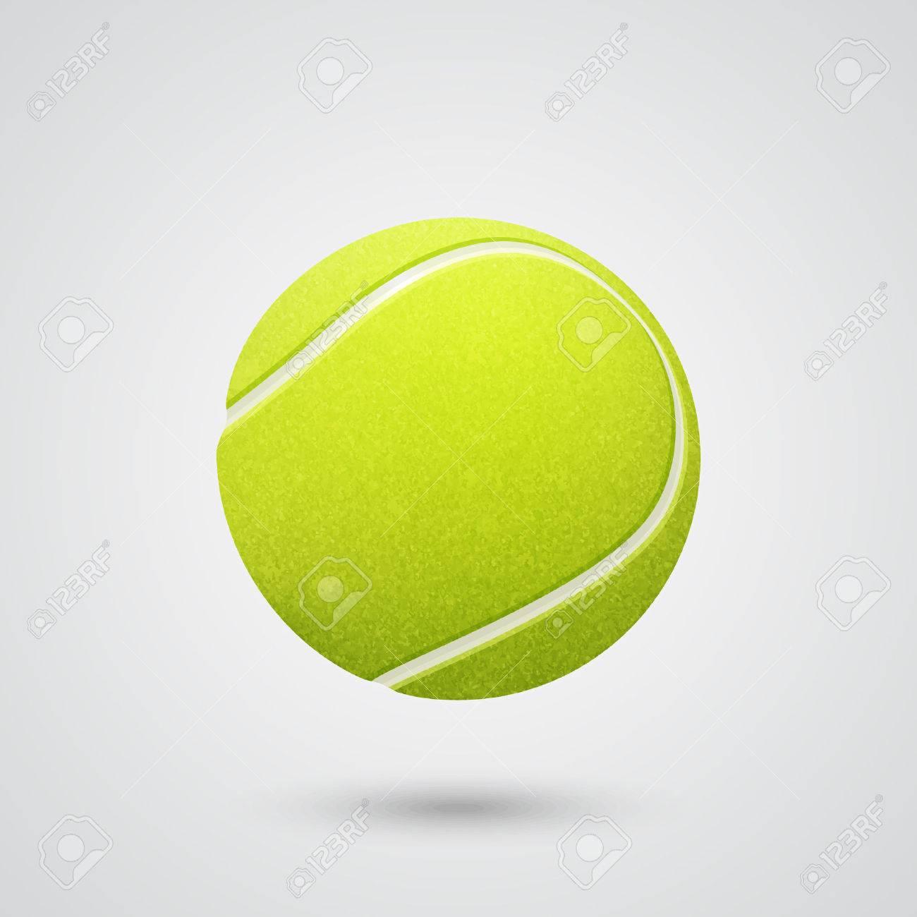 3d realistic tennis ball. - 39878976
