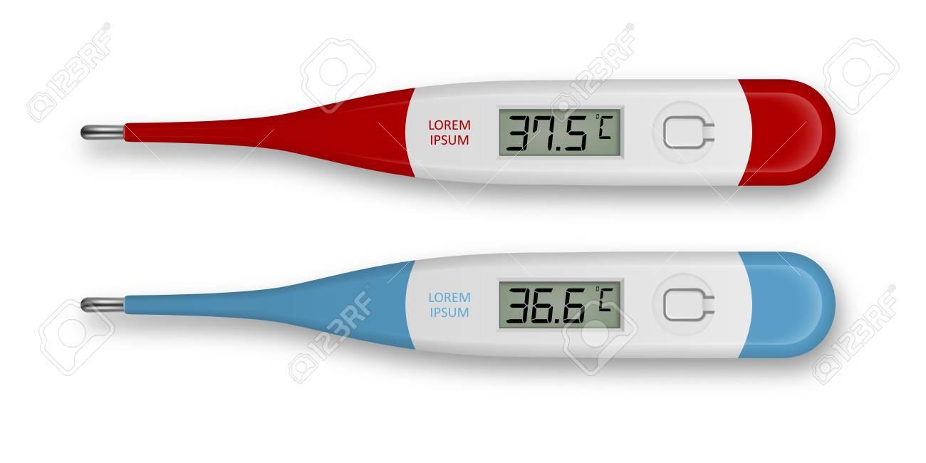 Digital Thermometer Temperature Medical