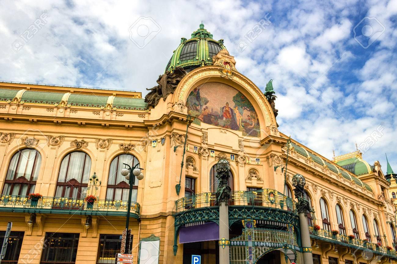 Obecni Dum (Municipal House) in Prague - 35031508