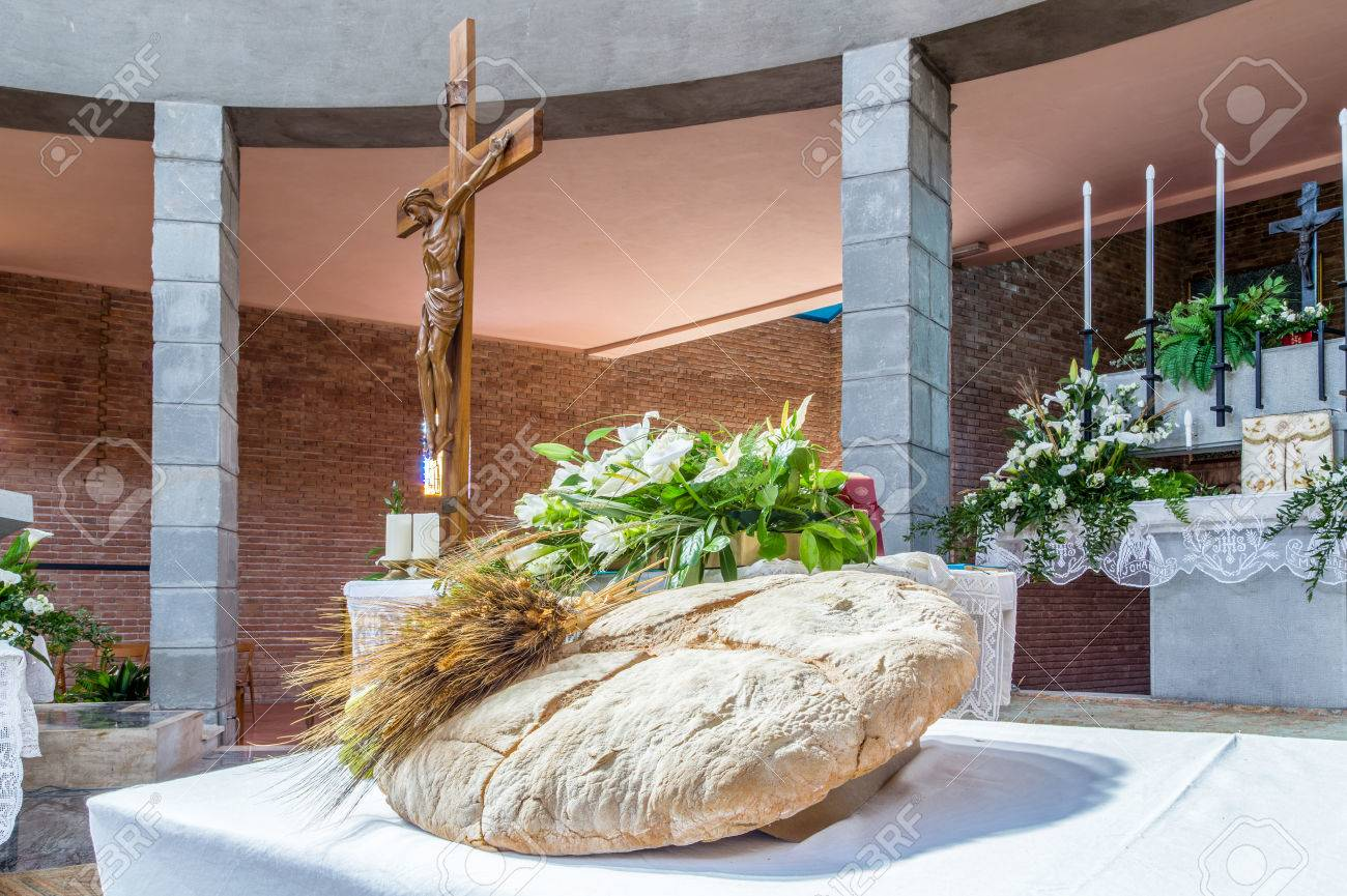 Bread grapes and ears of wheat as a symbol of christian holy bread grapes and ears of wheat as a symbol of christian holy communion in italian biocorpaavc