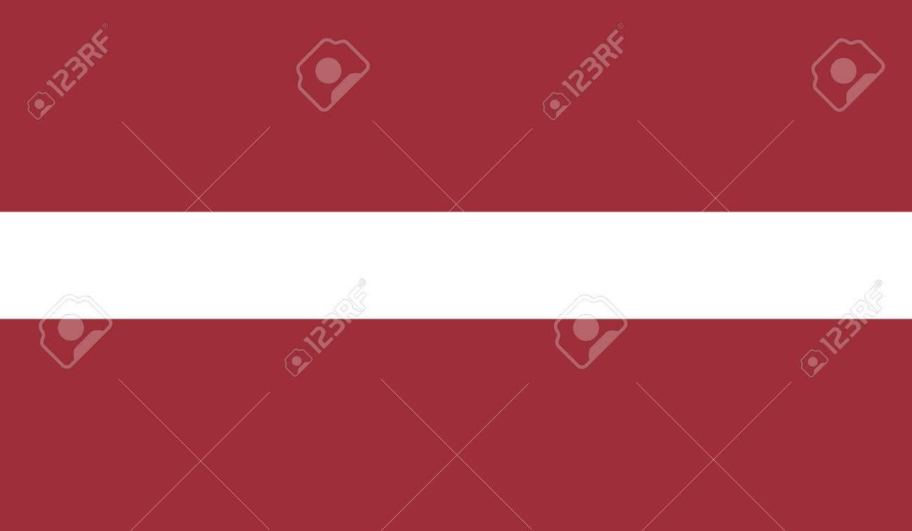 ラトビアの国旗 ロイヤリティフ...