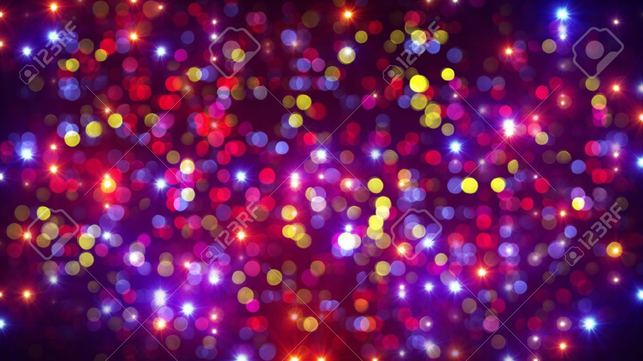 disco party light flashes and bokeh. computer generated abstract background Stock Photo - 47560262 & Disco Party Light Flashes And Bokeh. Computer Generated Abstract ... azcodes.com