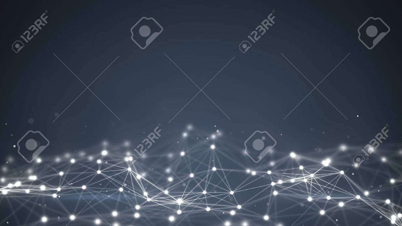 futuristic shape. Computer generated abstract background - 51168384
