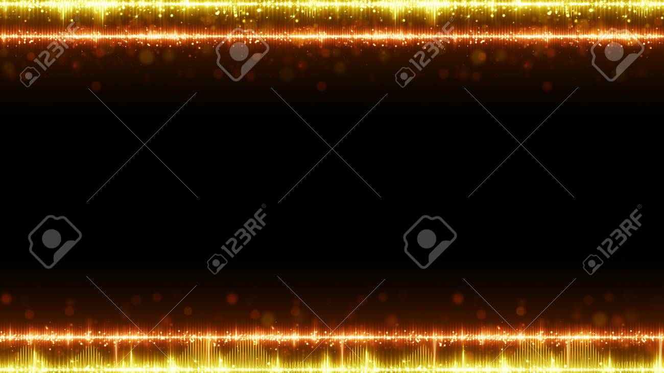 Frame of orange digital audio equalizer and free space  Abstract