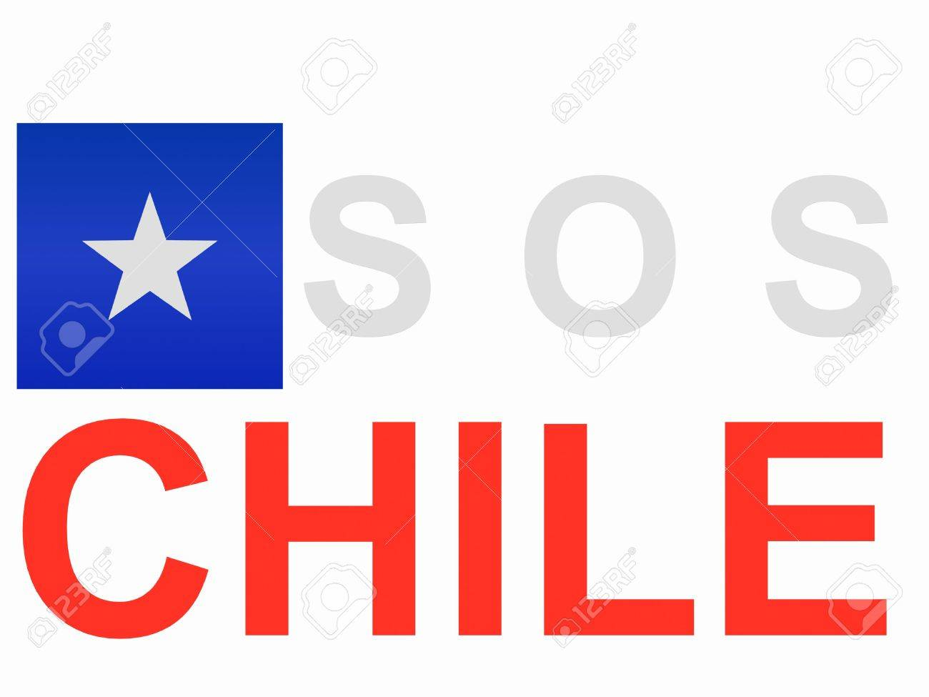 Sos Chile Royalty Free Cliparts, Vectors, And Stock Illustration ...