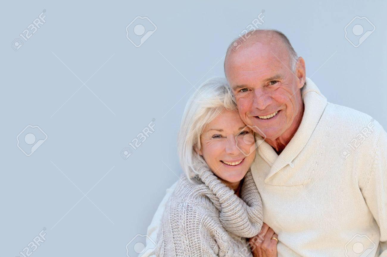 Portrait of happy senior couple Stock Photo - 9903523