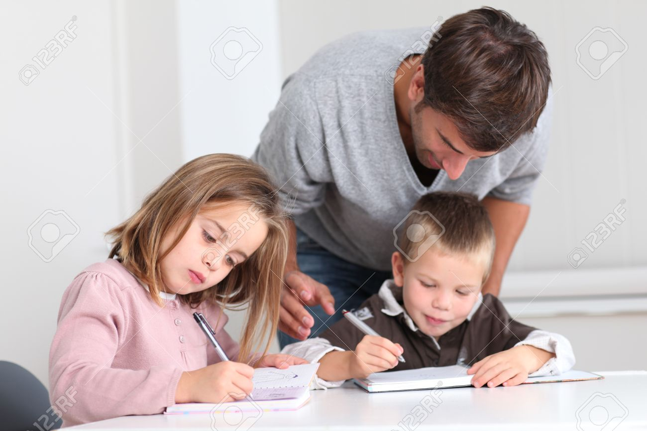 Helping kids with homework