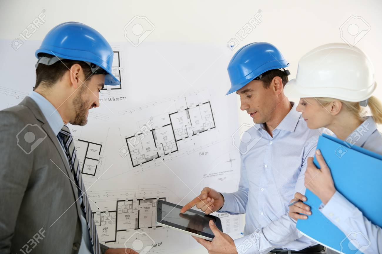 Prensenting project to client Stock Photo - 19687453