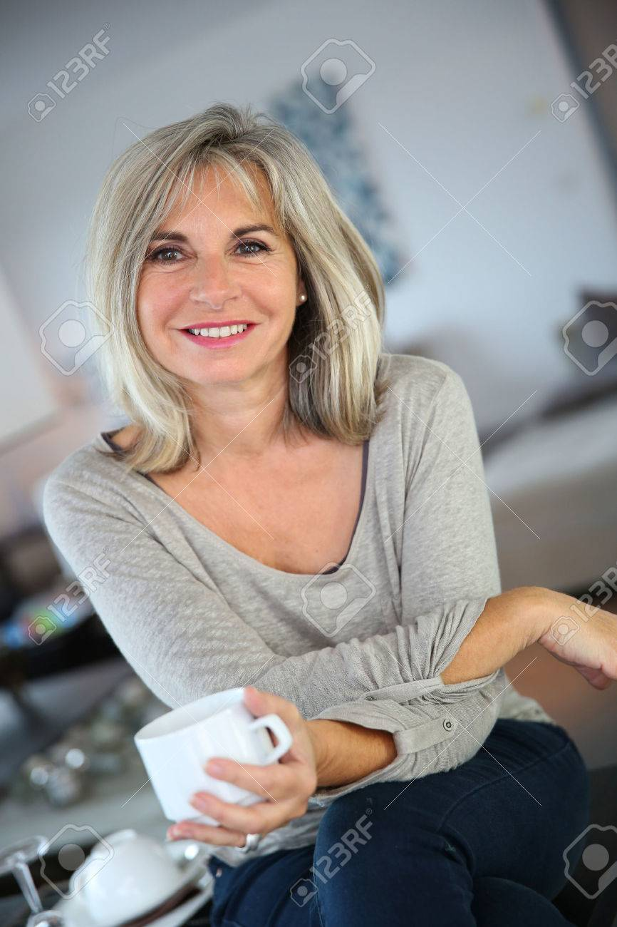pretty 50 year old woman