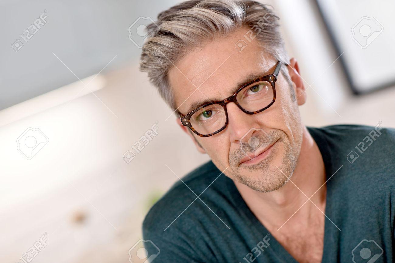 a mature man as