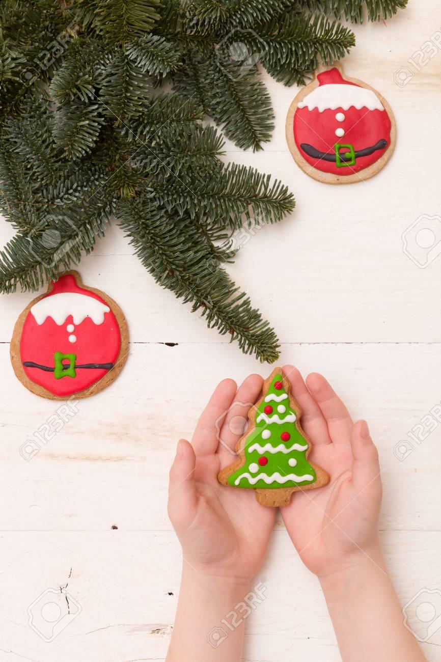 Albero Di Natale Fatto Con I Biscotti.Albero Di Natale Fatto Con Biscotti Disegni Di Natale 2019