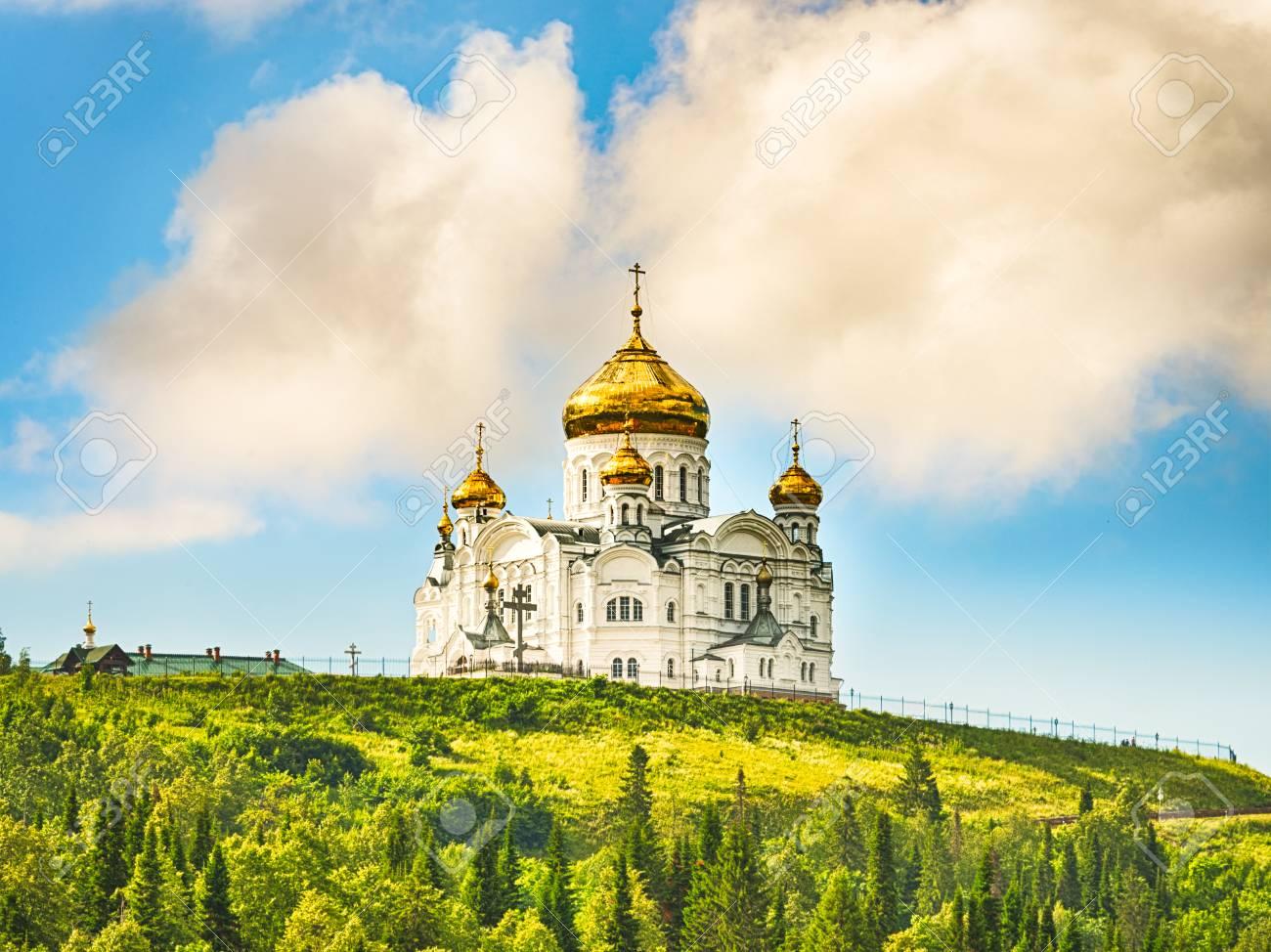 Belogorsky 修道院の美しい景色...