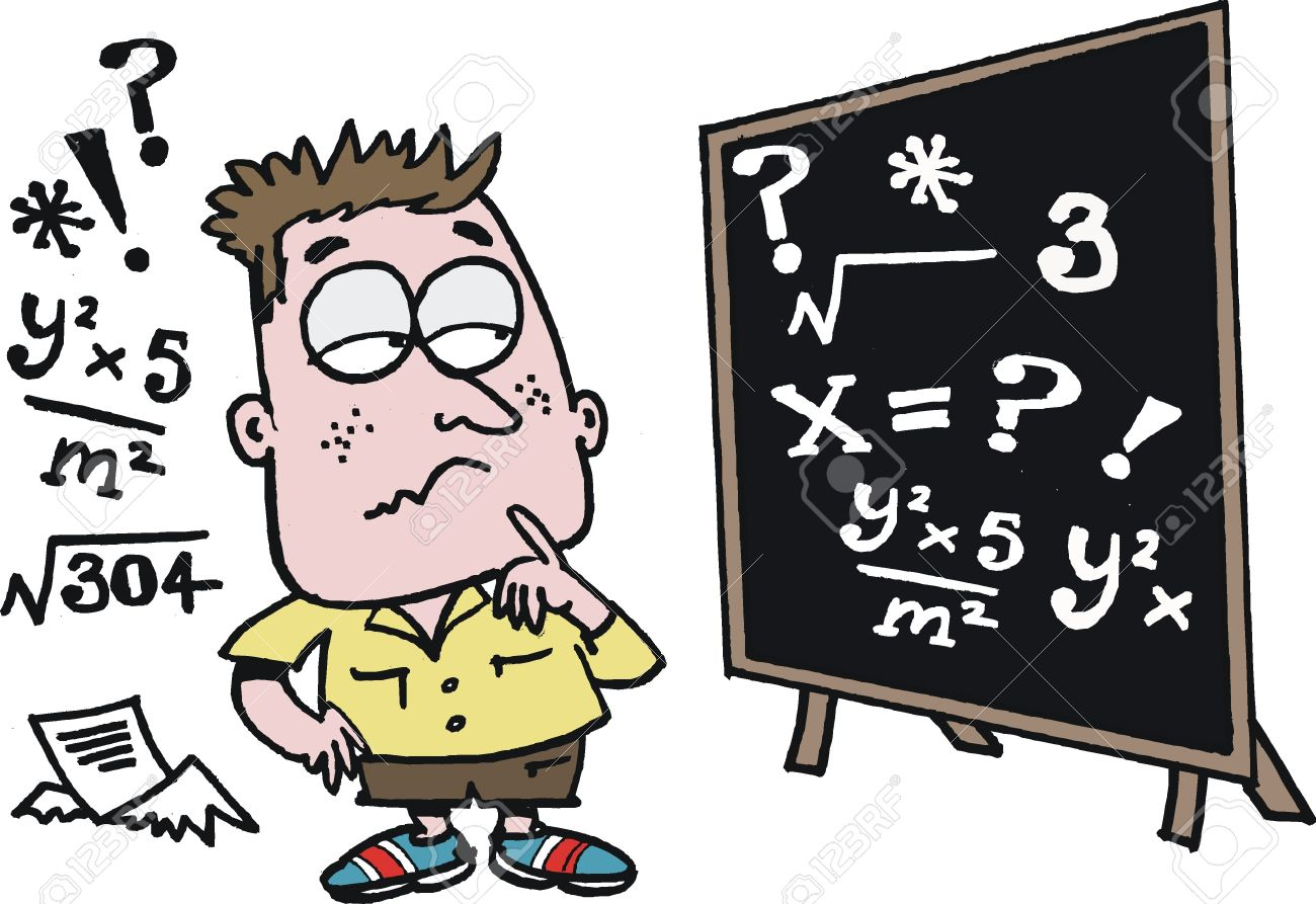 Image result for CARTOON maths