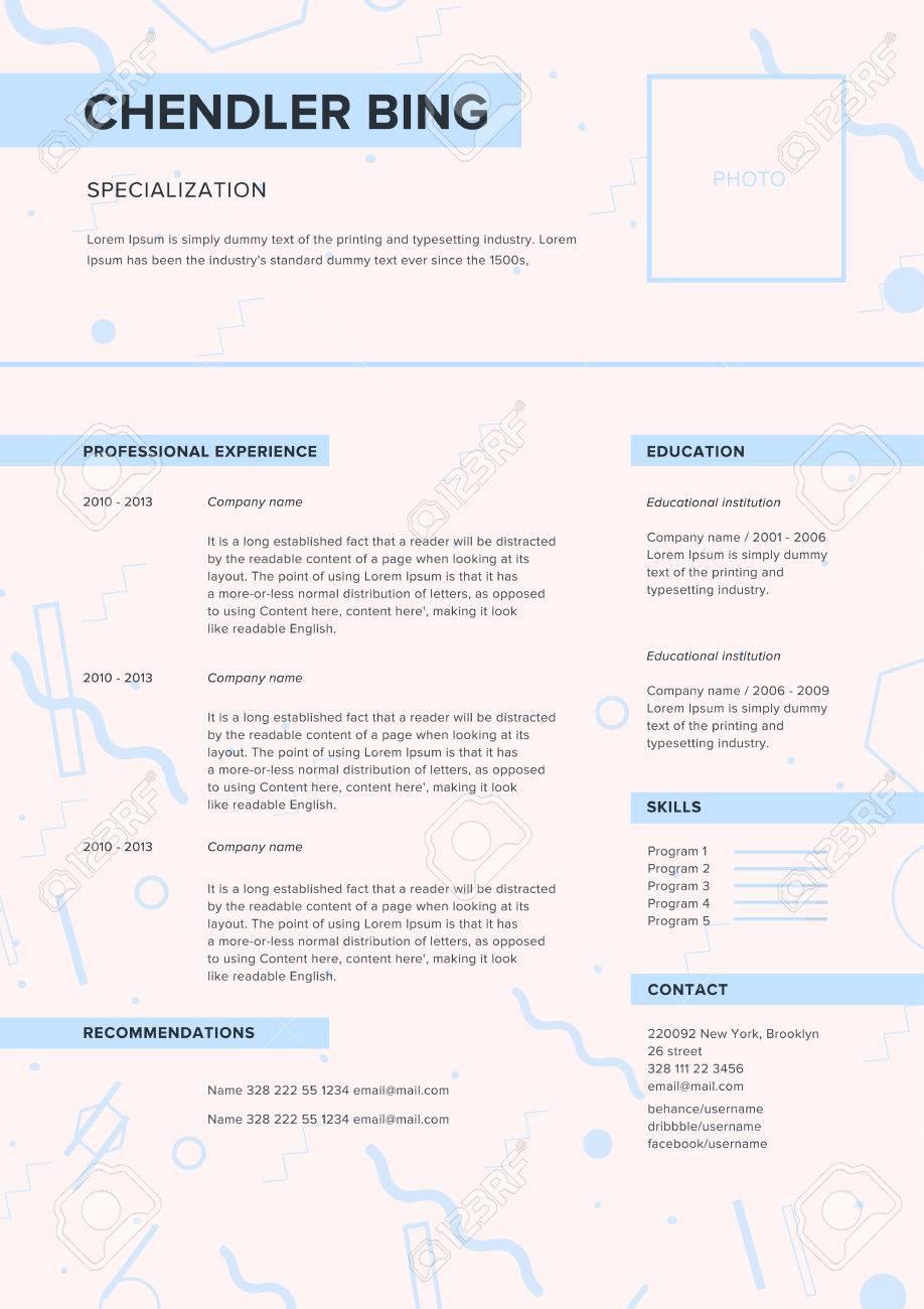minimalist lebenslauf web seite bewerbung fhigkeiten prsentation - Bewerbung Fhigkeiten