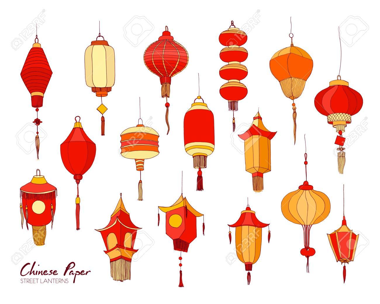 Asian free lantern paper