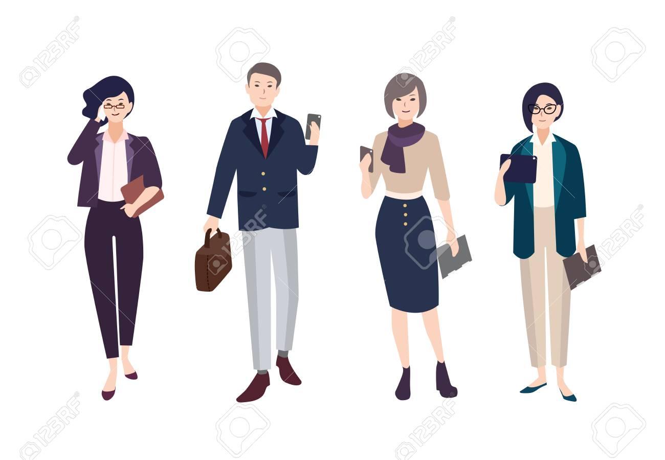 Mujeres vestidas con ropa de hombre