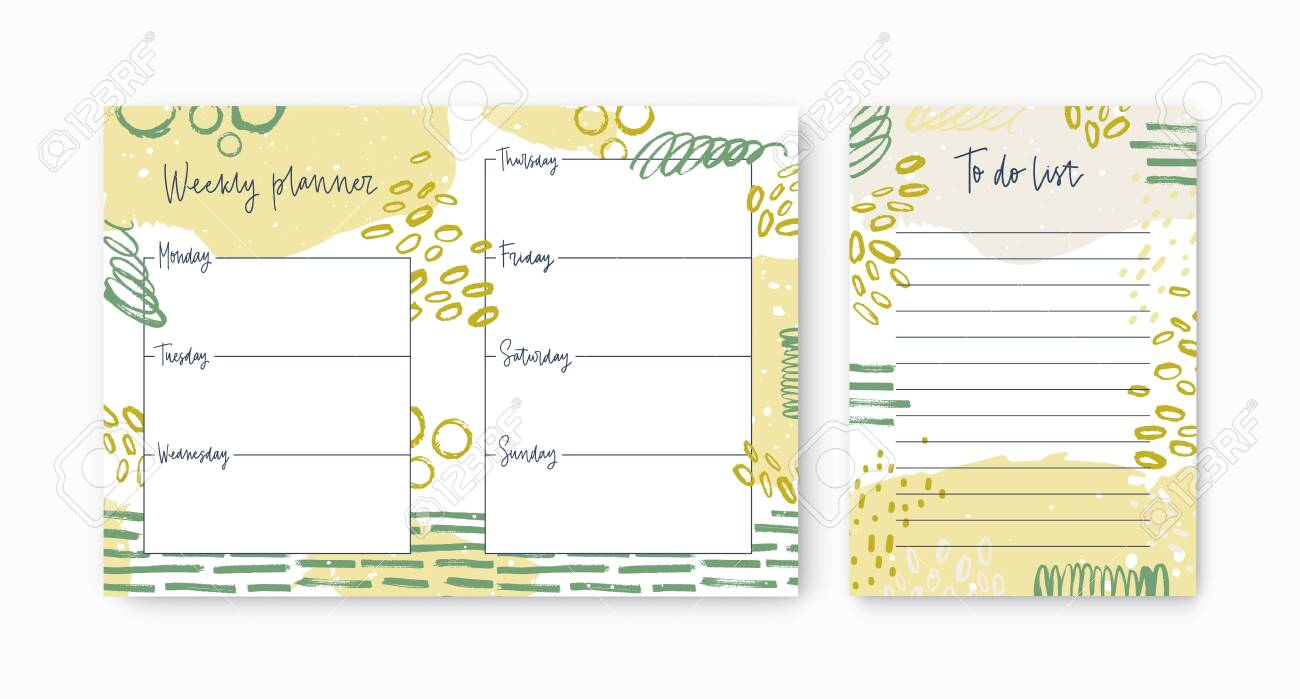It's just an image of Weekly to Do List Printable with life planner