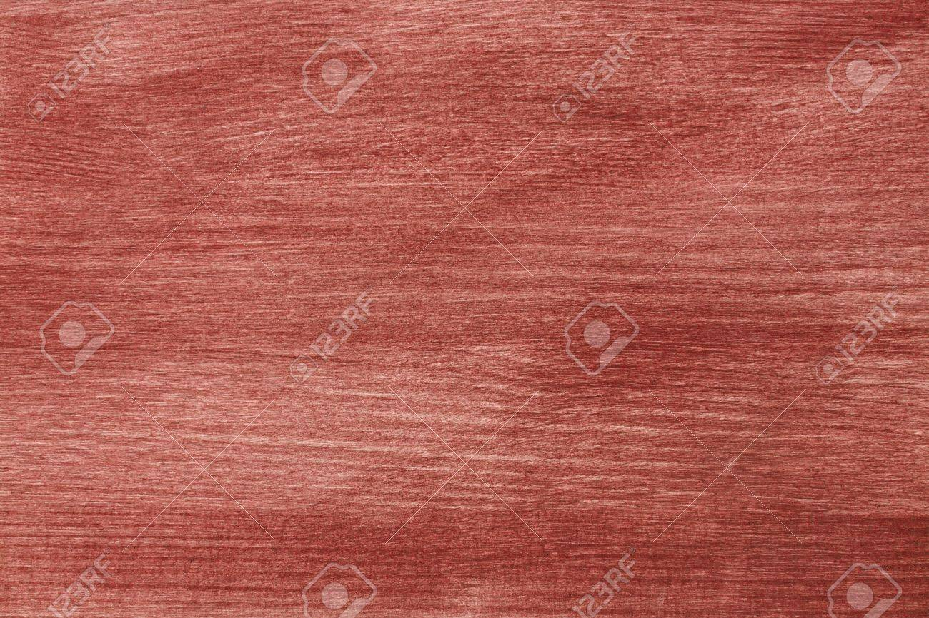 Red Wood Texture Painted With Acrylic Paint Stock Photo Picture