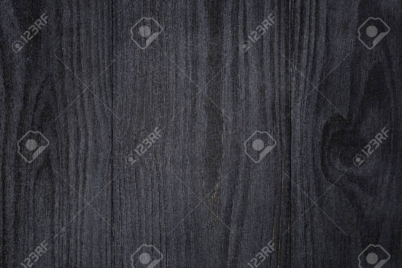 Stock Photo   Texture Of Painted Pine Wood With Black Semiglossy Paint,  High Detailed