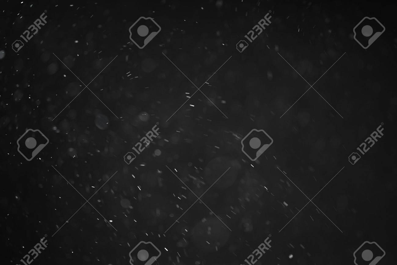 dust particles overblack background fx backdrop, real photo no cgi - 58612599