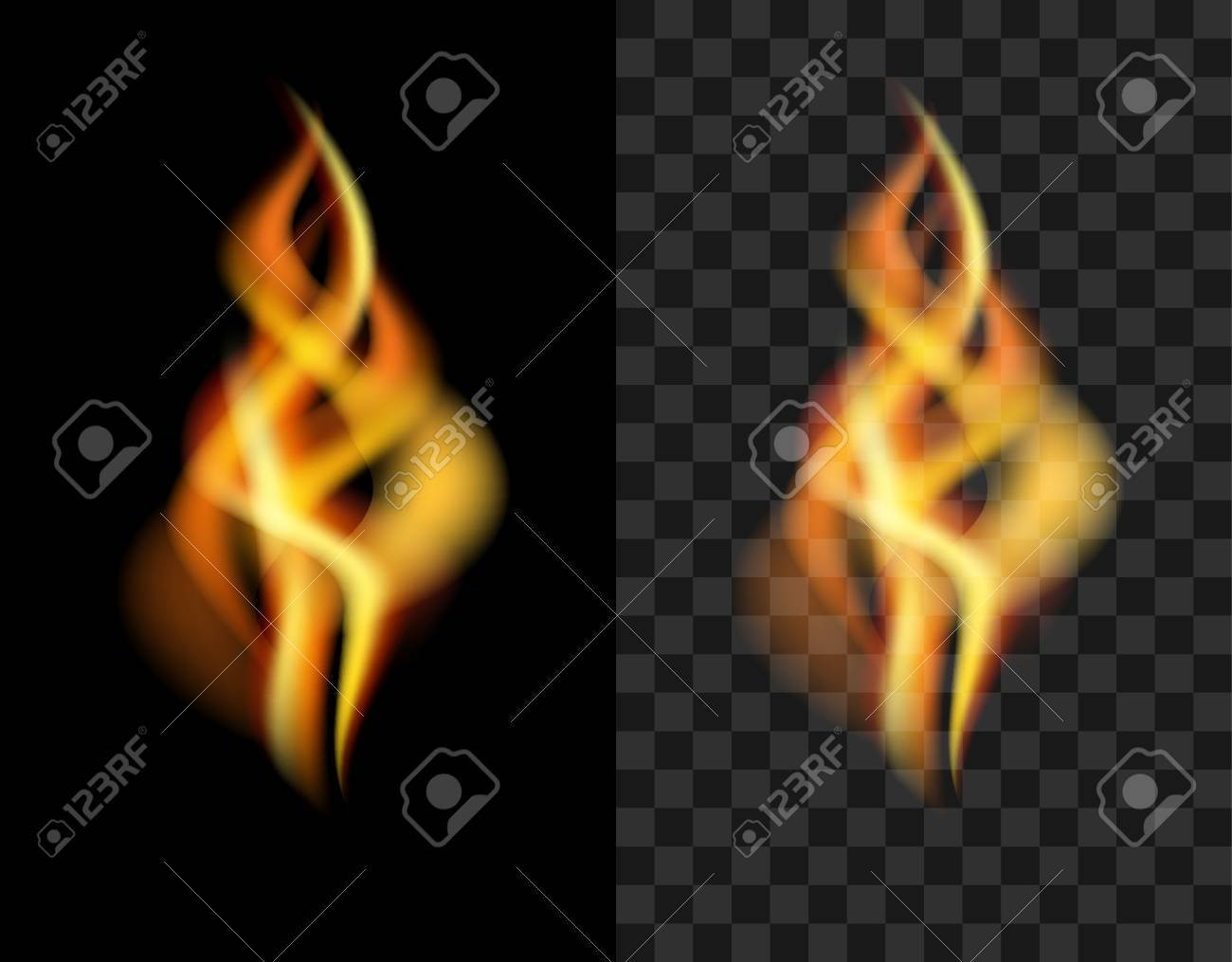 fire transparent translucent flame torch stock photo picture and