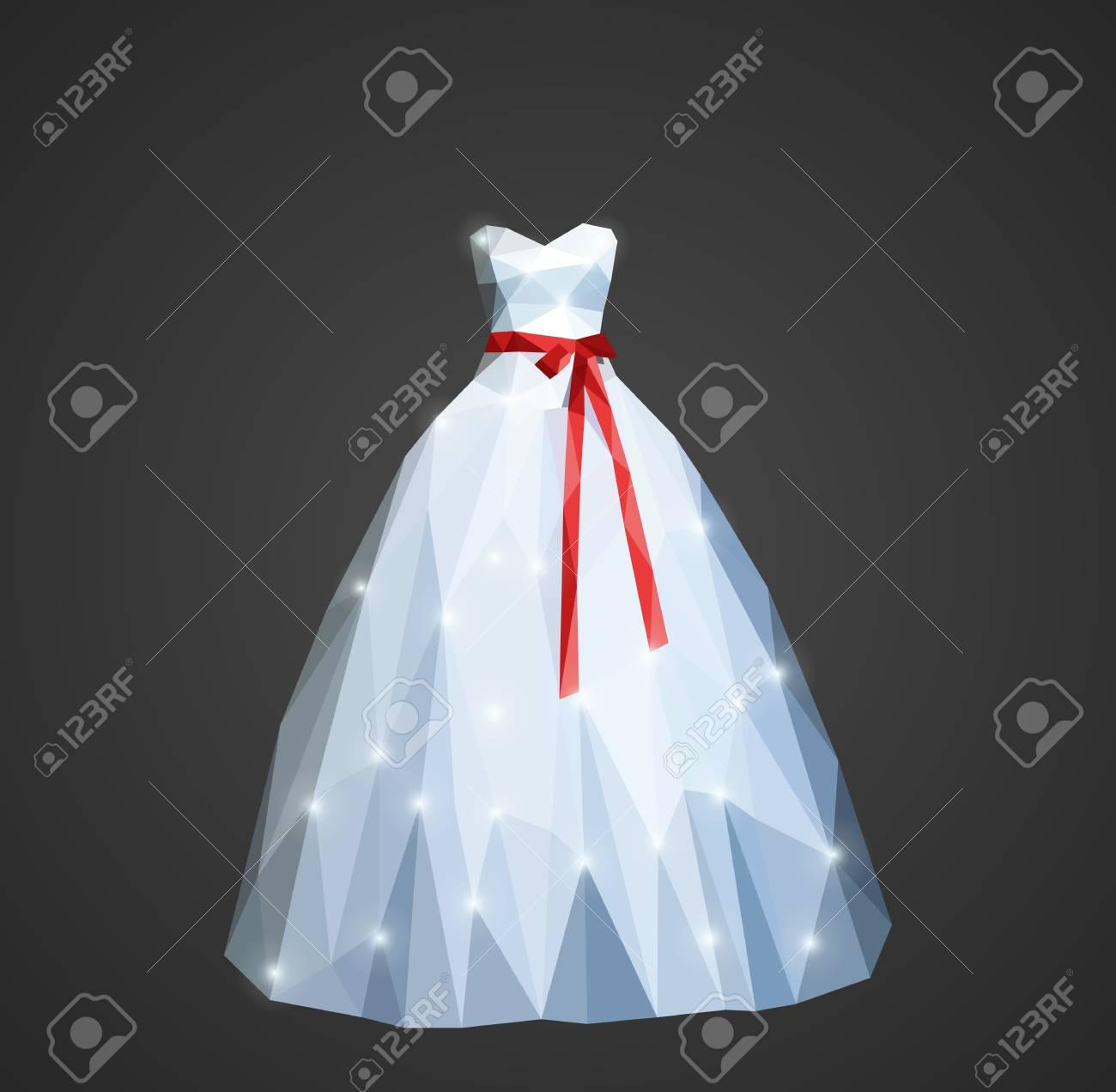 Vestido de novia en rojo