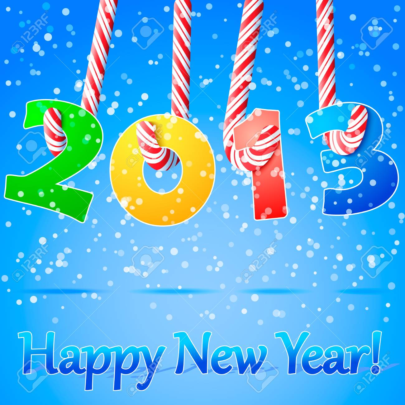 2013 Happy New Year background Stock Vector - 16484227
