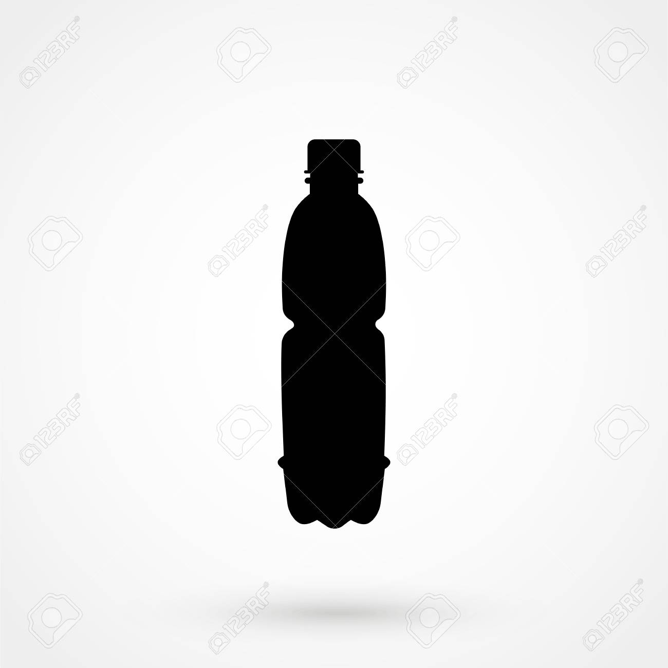 Plastic Bottle Icon Royalty Free Cliparts Vectors And Stock