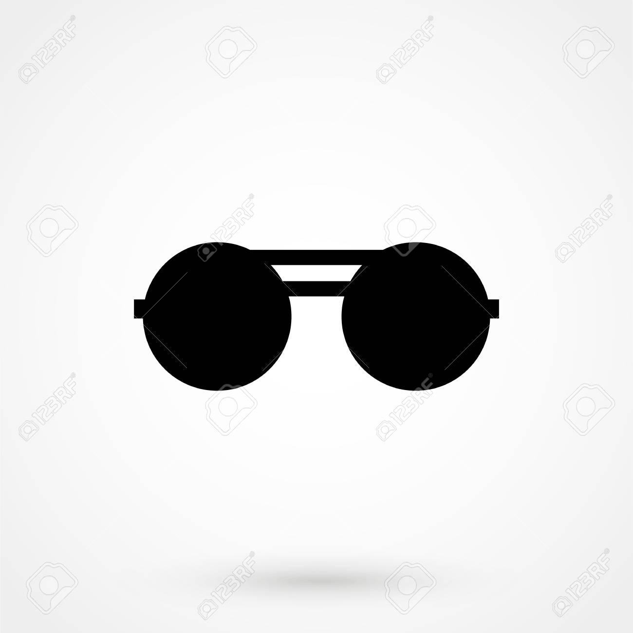 8d8ca569410 Sunglasses Icon Isolated On Background. Modern Flat Pictogram ...