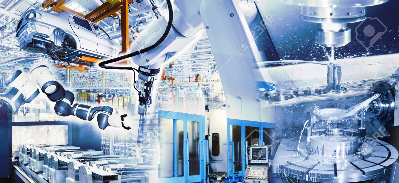 Industry 4.0 with state-of-the-art technology - 131784551