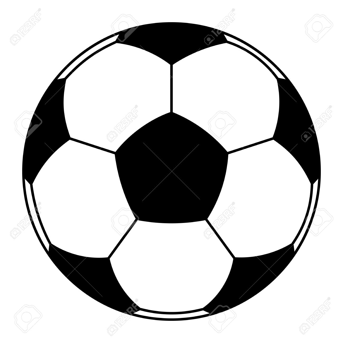 football ball soccer illustration clip art royalty free cliparts rh 123rf com free soccer clipart images soccer goalie clipart free