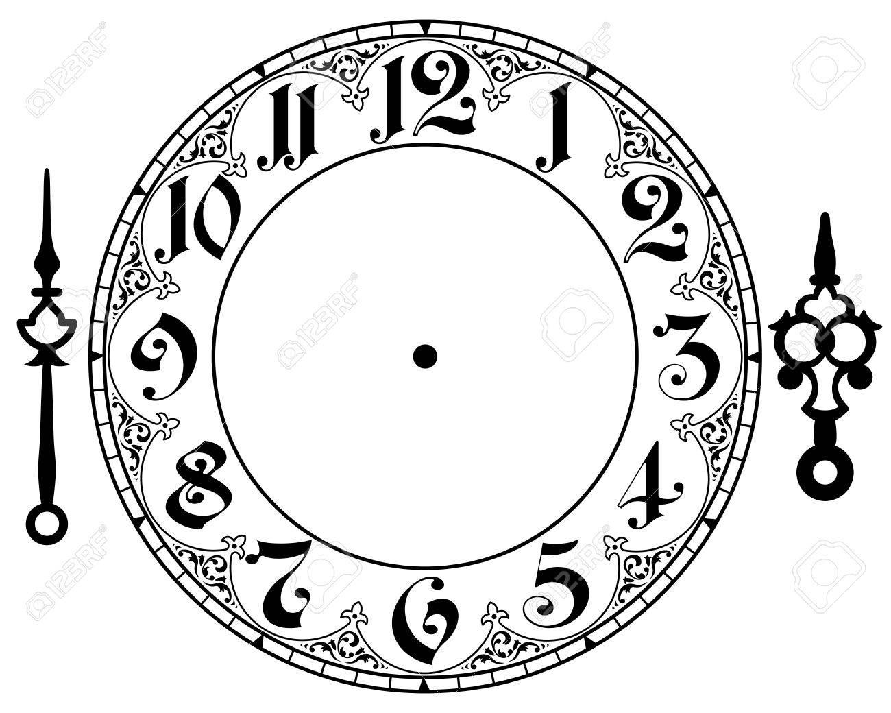 vintage clock Stock Vector - 30543151