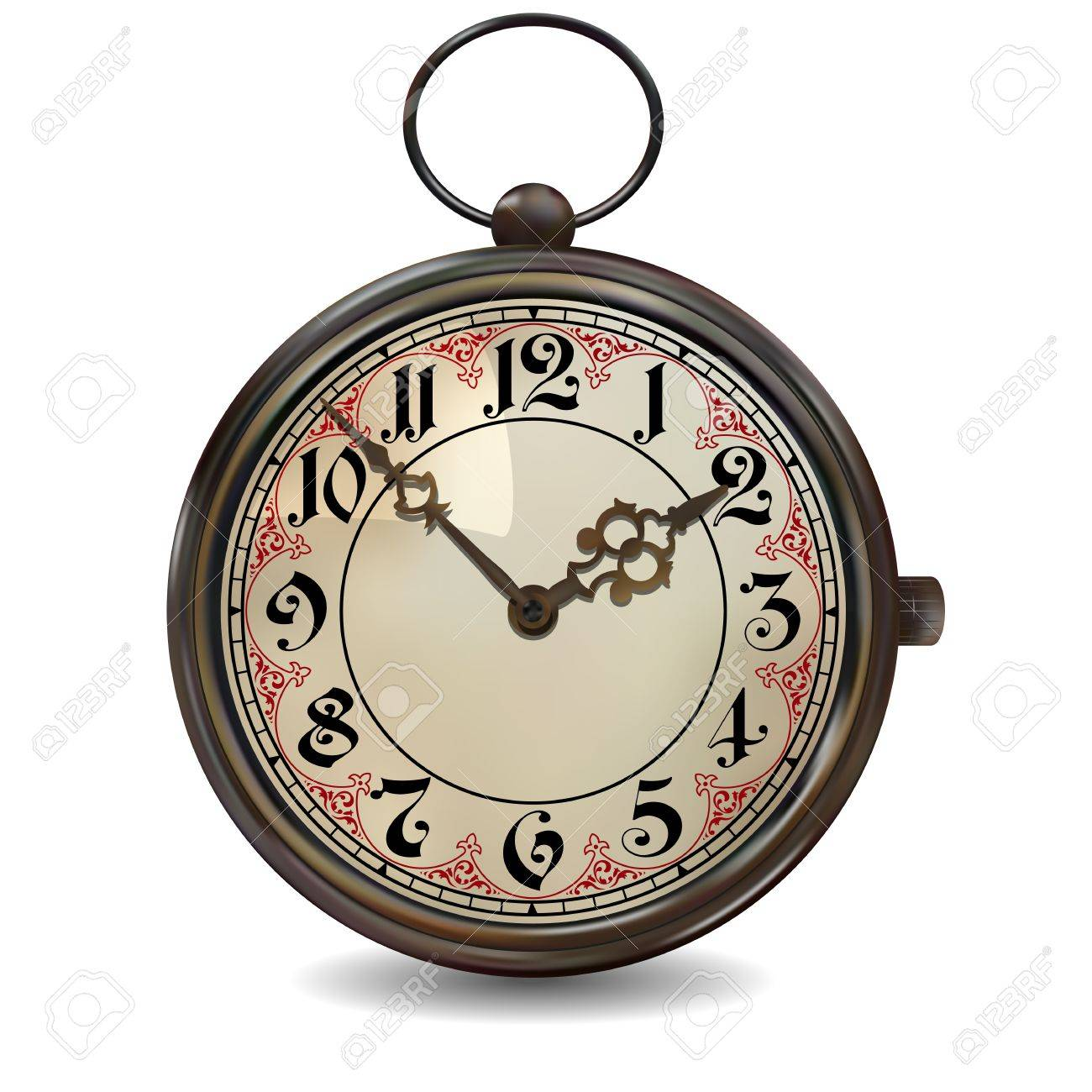 Rusty Pocket Watch Stock Vector - 30533625