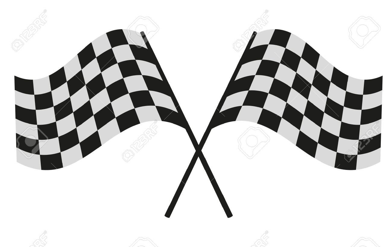 checkered flag racing Stock Vector - 33211129