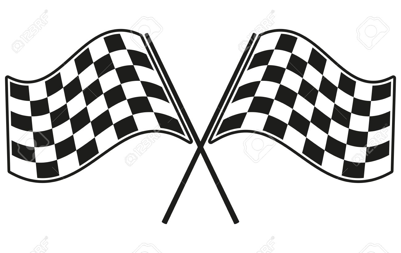 checkered flag racing royalty free cliparts vectors and stock rh 123rf com free vector checkered flag clip art checkered flag vector art