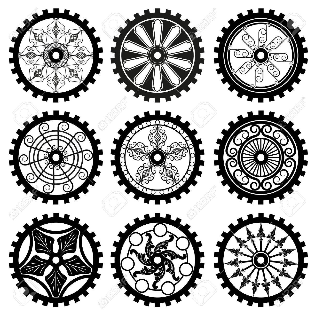 the gears Stock Vector - 33211138