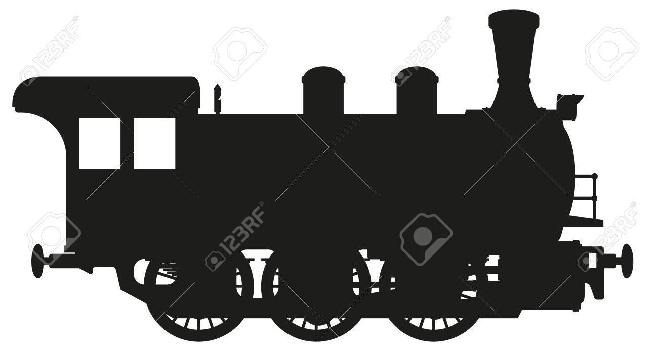 steam locomotive Stock Vector - 33282973
