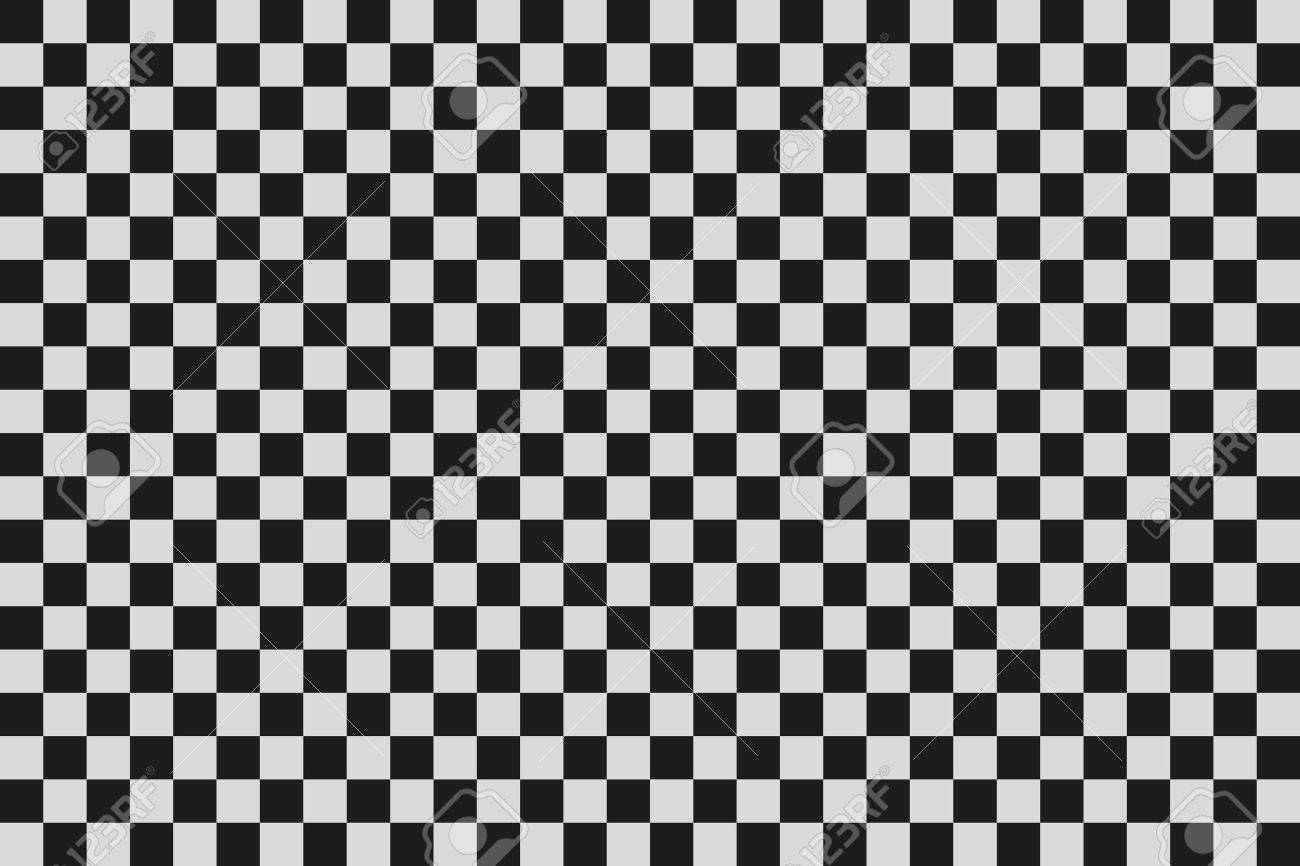 Black and White Squares. Vector. Clip art Stock Vector - 41799009