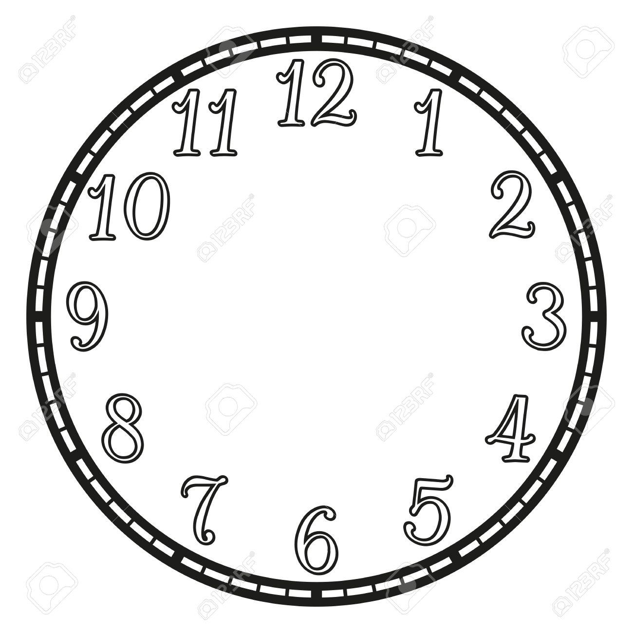 白いビンテージの時計。イラスト クリップ アート ロイヤリティフリー