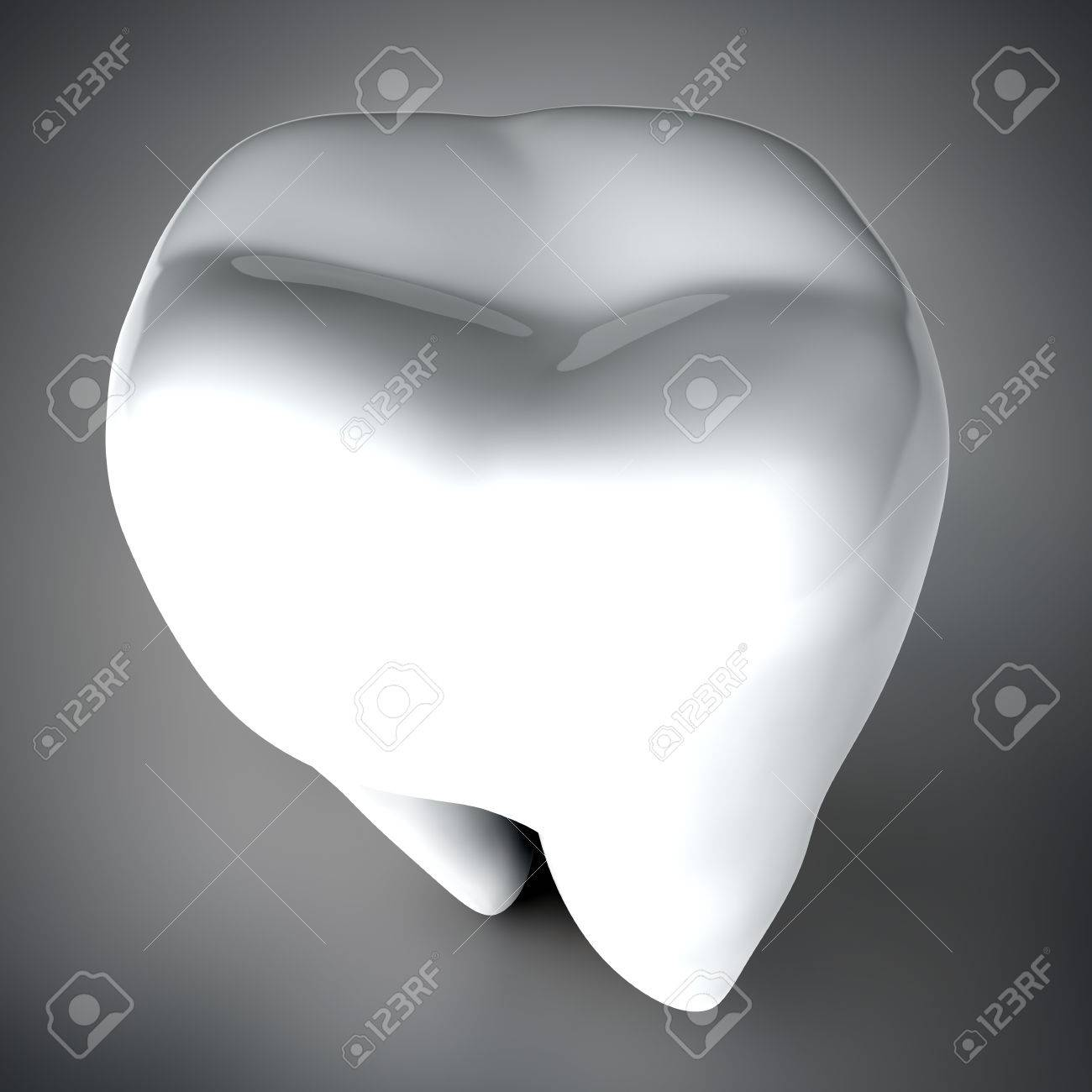 Human tooth 3D render Stock Photo - 72264100