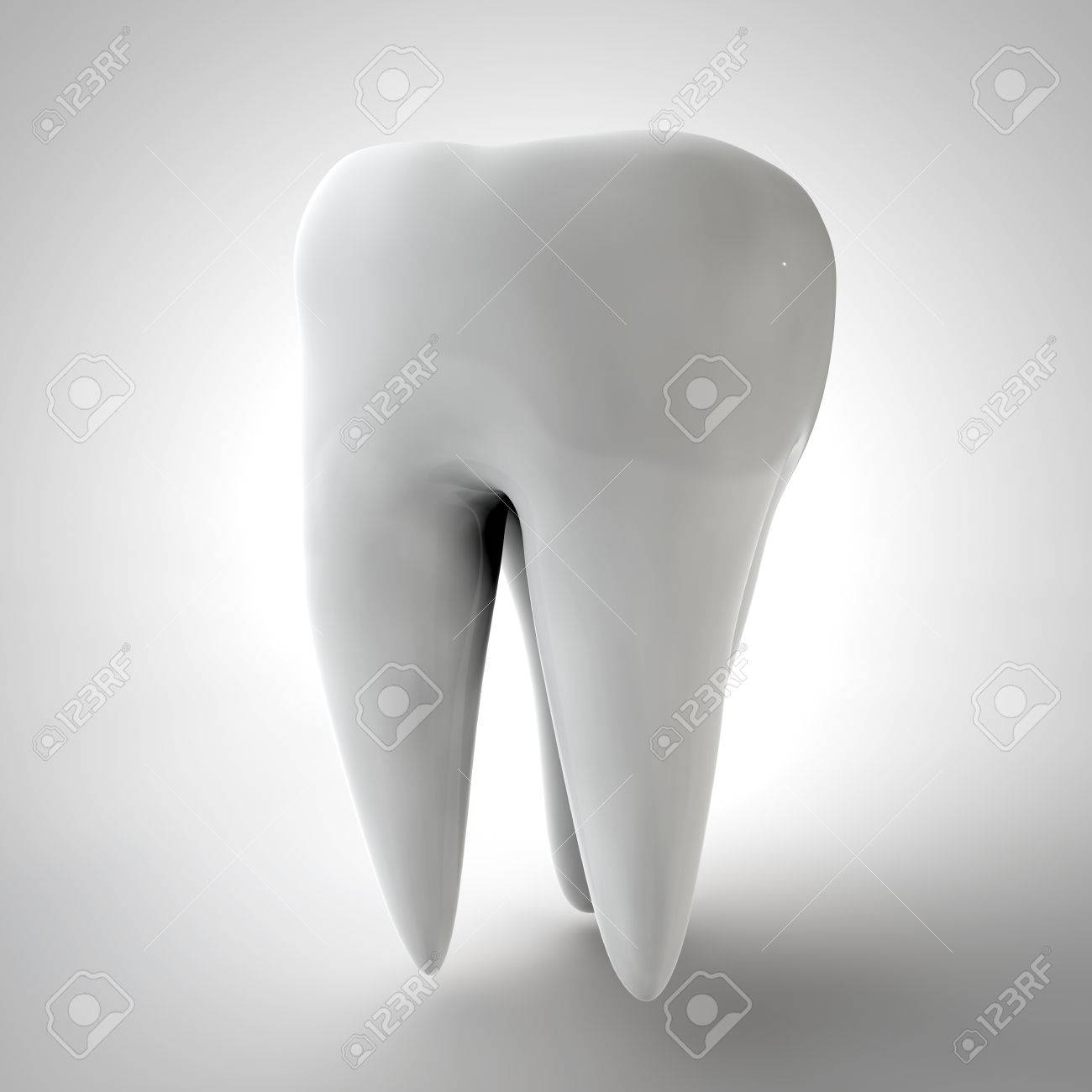 Human tooth 3D render Stock Photo - 72264101
