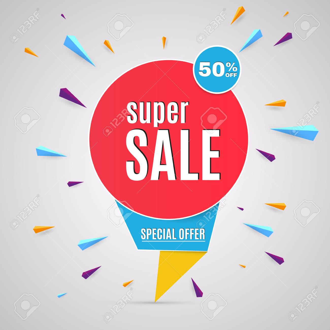 Incredible Wow Sale Banner Design Template. Big Super Sale Special ...