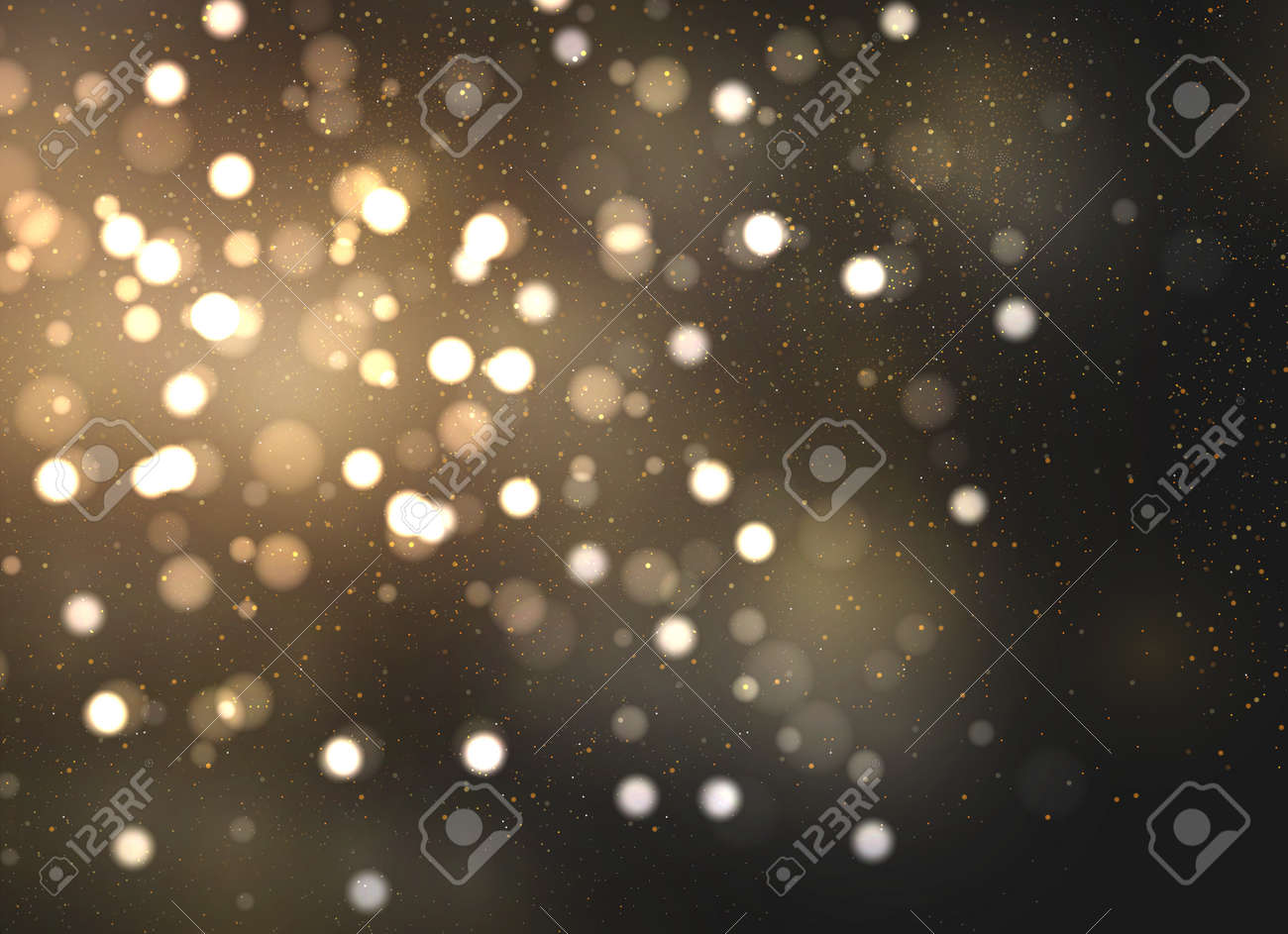 The dust sparks and golden stars shine with special light. Vector sparkles on a transparent background. Christmas light effect. Sparkling magical dust particles. - 151459858