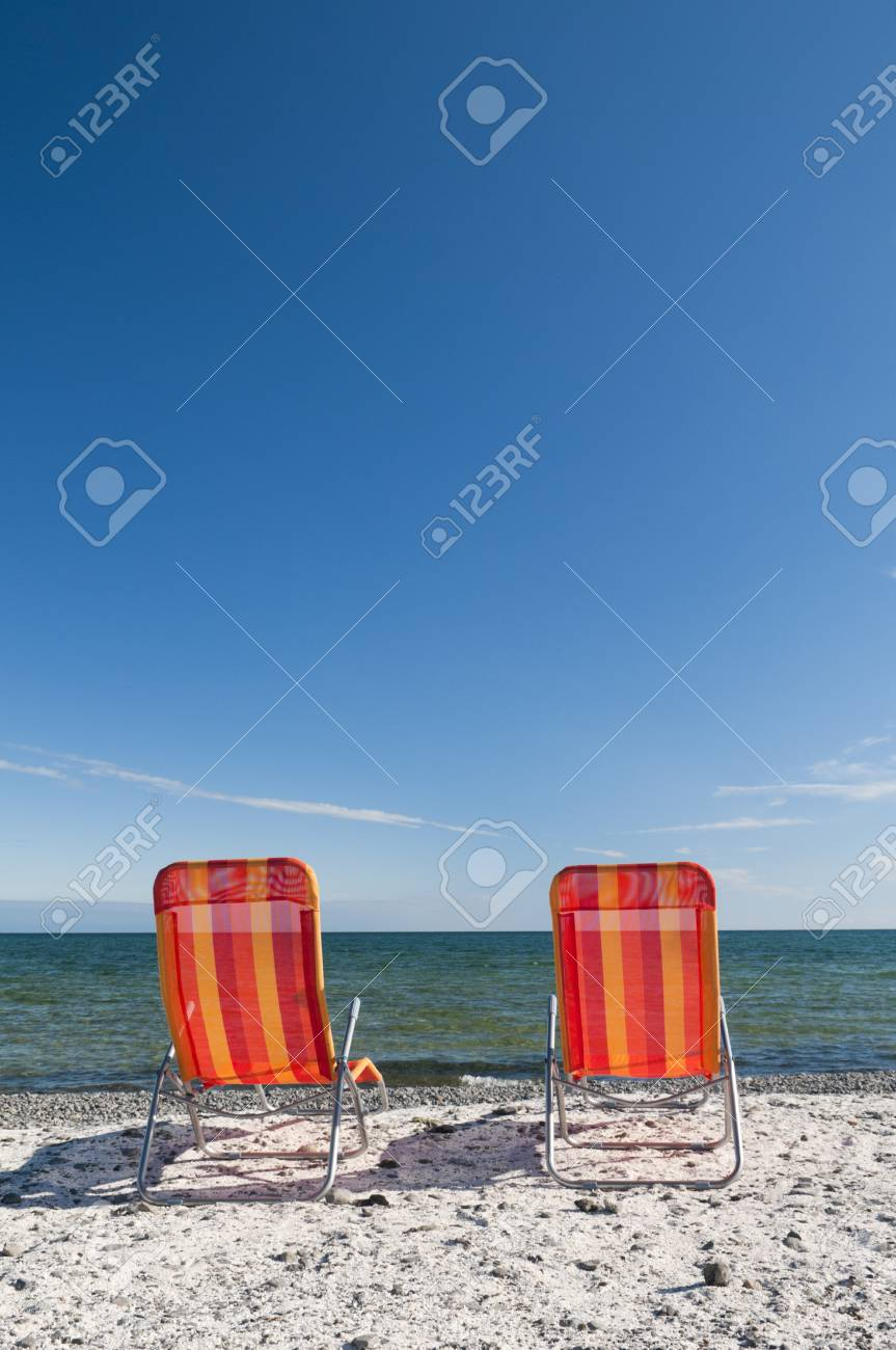 Pleasant Lounging Beach Chairs On The Lake Ontario Shoreline With Large Ocoug Best Dining Table And Chair Ideas Images Ocougorg