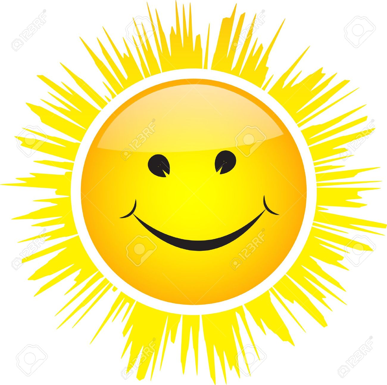 Smiling Sunshine - ClipArt Best