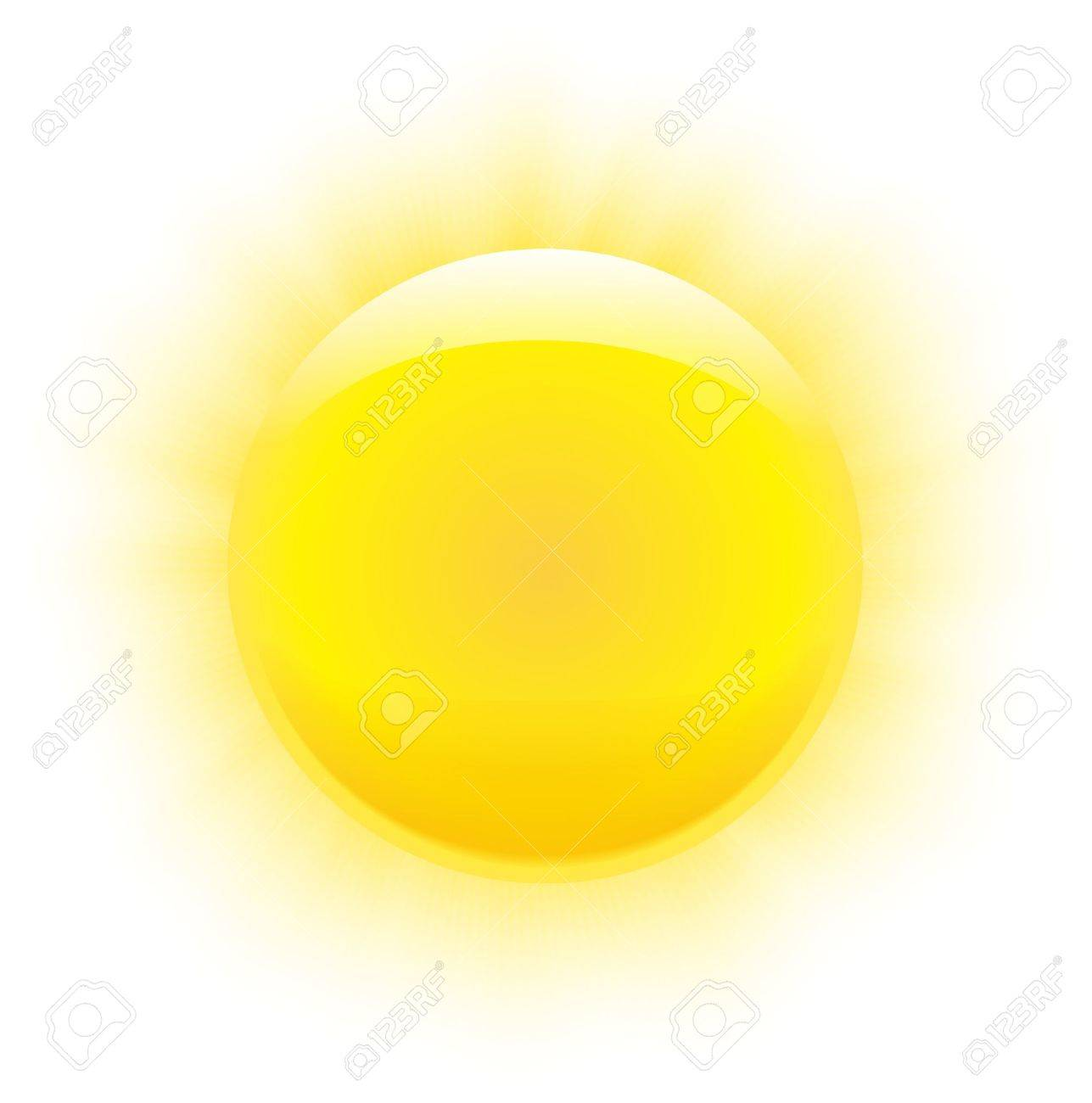 Sun with nice realistic rays and transparency ends Stock Vector - 15781912