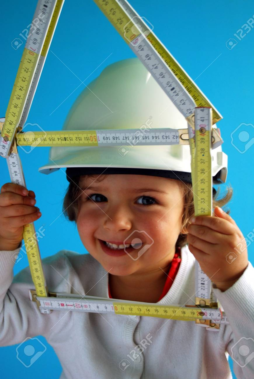 Little constructor Stock Photo - 3792878