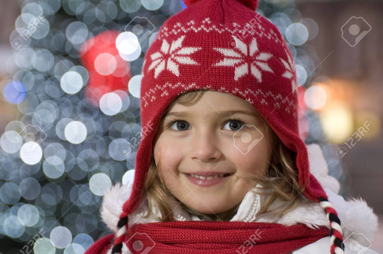 Cute girl  winter portrait Stock Photo - 4229973